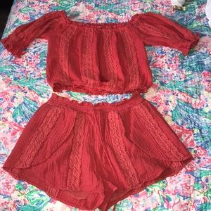 Two piece American Eagle outfit